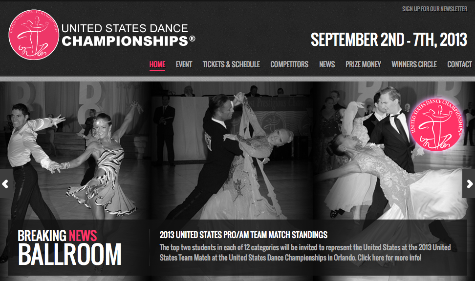 United States Dance Championship september 2013 best event